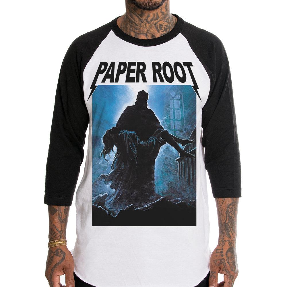Paper Root The Night Wolf Raglan