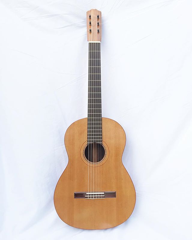 6 Flamenco Guitar in Wester Red Cedar, Rosewood, cyprus, and spanish cedar .jpg