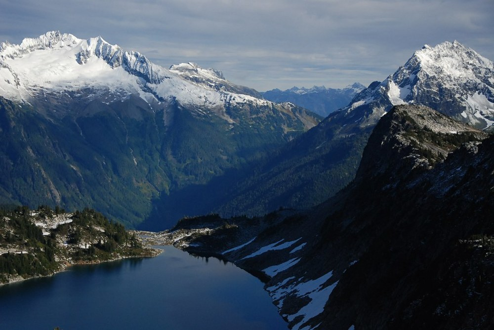 Hidden Lake and North Cascades