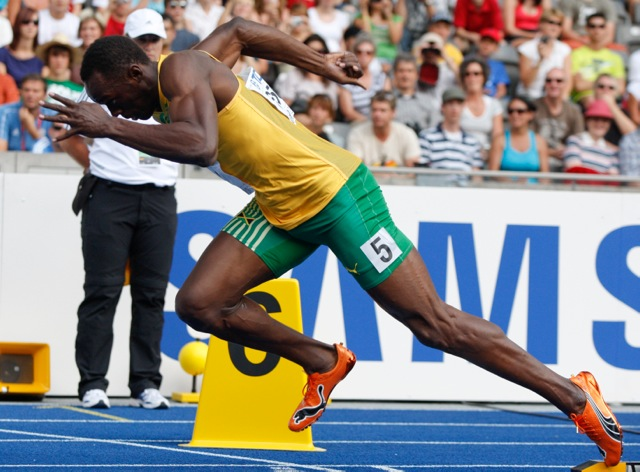 """Don't think about the start of the race, think about the ending!"" Usain Bolt"