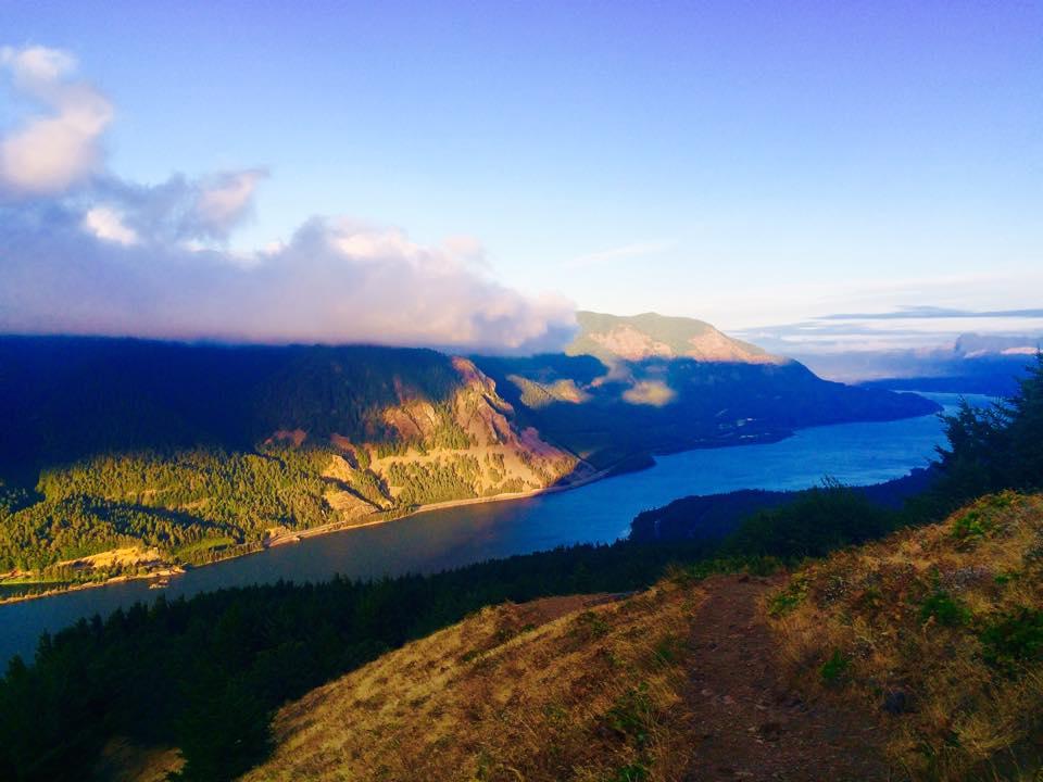 Sunrise on Dog Mountain