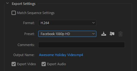 Just Add Video _ Exporting.JPG
