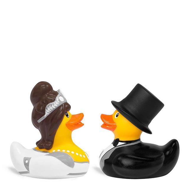 """I do"" — Bride & Groom Duck Ahh weddings, who doesn't love them? 😋😍💖 . . . . . #bud #brideandgroom #duck #weddings #happydays #sharethelove #loveislove"