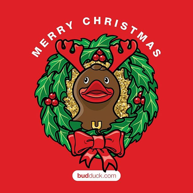 Merry Christmas! #budduck
