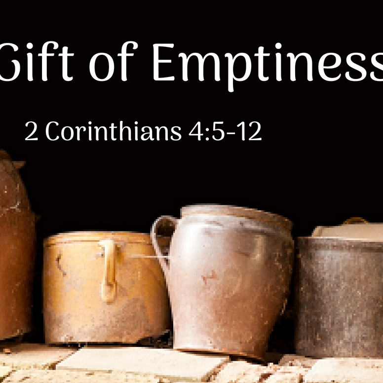 Unexpected Gifts Of The Spirit The Gift Of Emptiness Holy Trinity