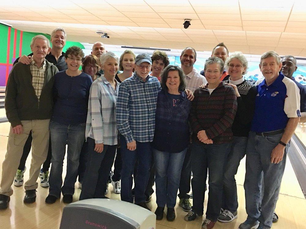 HTCC's Saturday bowling group - 10AM, Tusculum strike & Spare, nolensville road in nashville