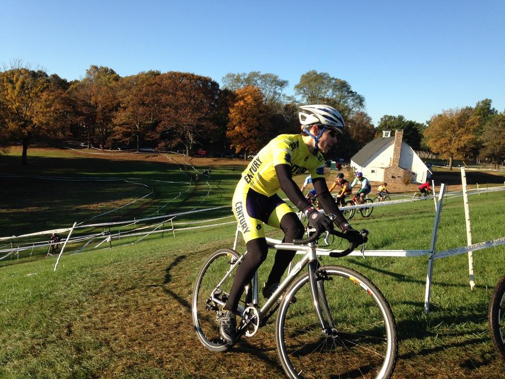Racing cyclocross