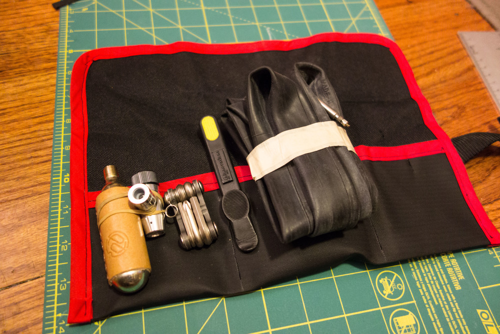 Making A Bicycle Saddle Tool Roll Morgan Crossley