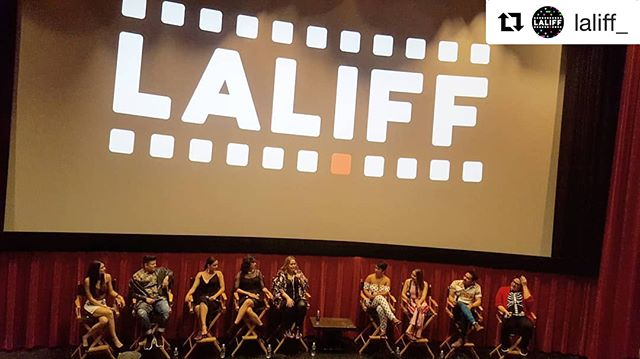 Yesterday's live podcast at @laliff_  gave me VIDA!!! We had a conversation with the creator and cast of @vida_starz. Y'all gotta watch this show!  #Repost @laliff_ ・・・ Amazing and inspiring panel with the cast of @vida_starz  It was a candid conversation of representation of Latinx talent, the importance of the authenticity of our neighborhoods, and inclusivity of queer stories. . WATCH IT TODAY: we livestreamed the entire conversation! 😉💯 Feeling #inspired #vida #laliff