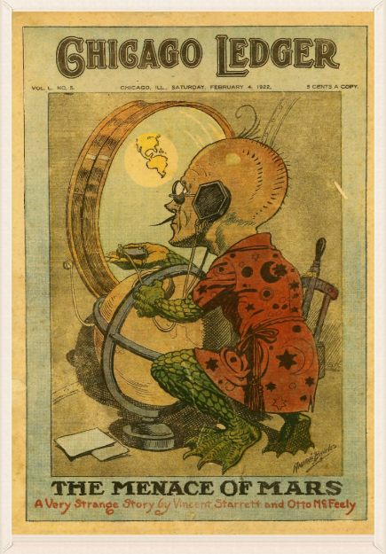 The Chicago Ledger cover for Feb. 4, 1922