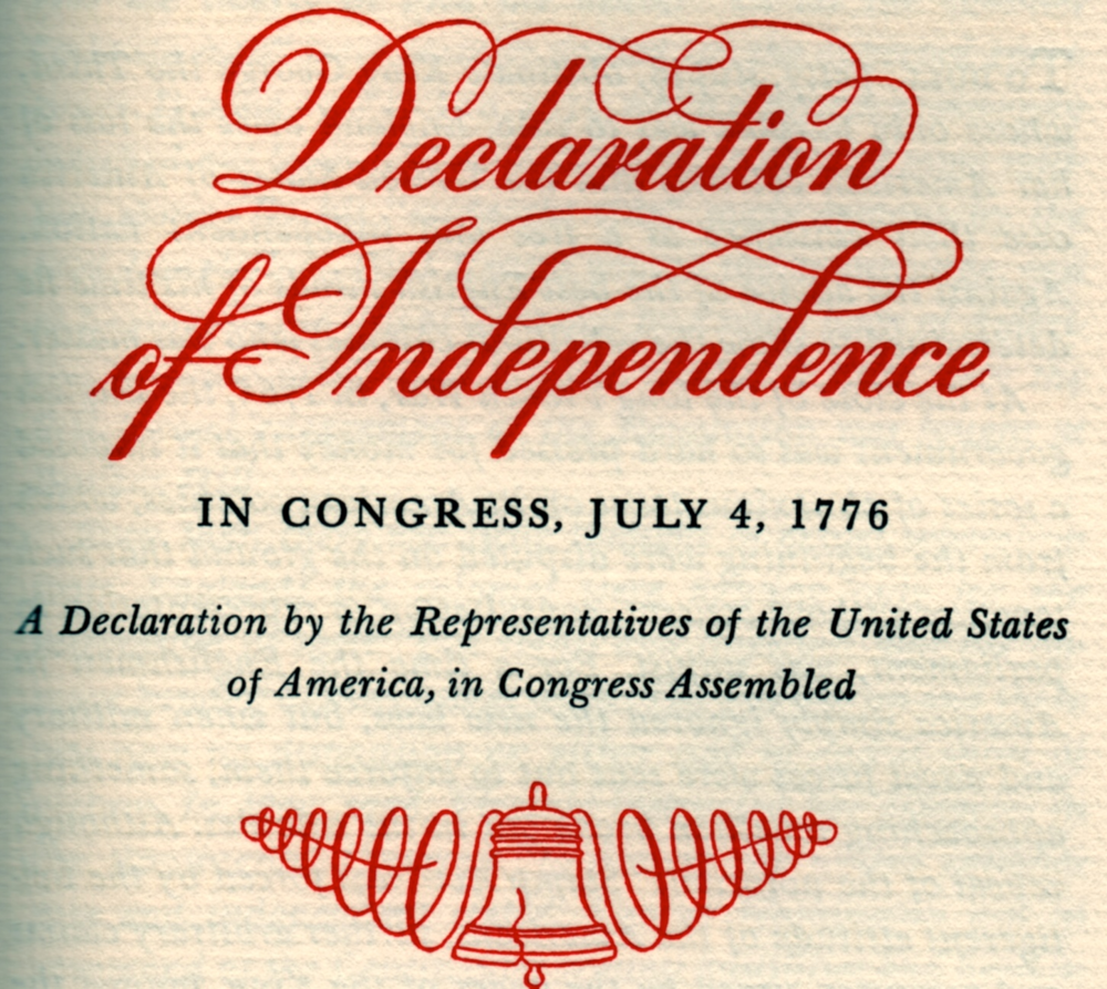an introduction to the many abstractions in the declaration of independence of the united states Start studying declaration of independence declaring independence: a declaration that and do all other acts and things which independent states.