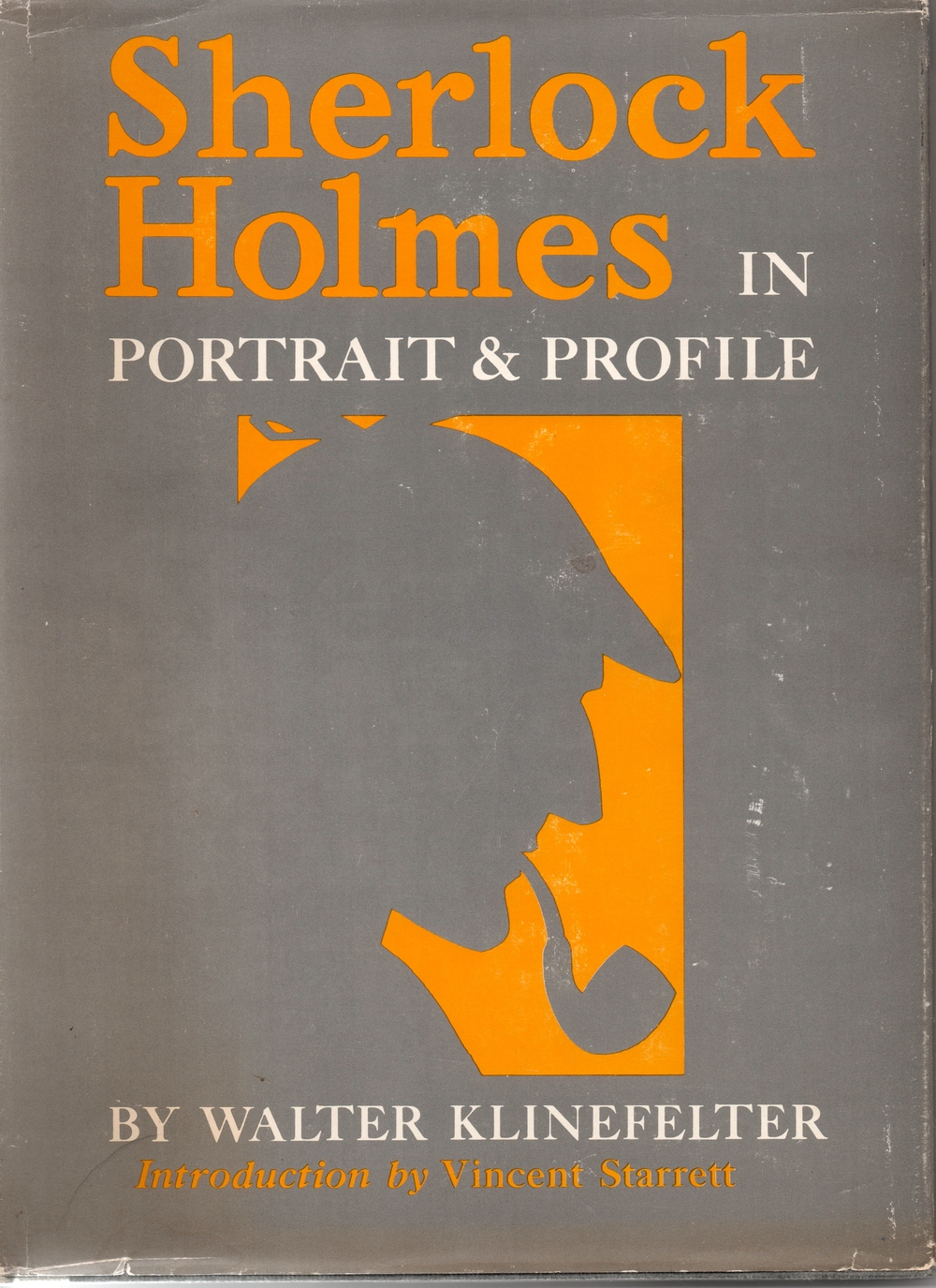 Walter Klinefelter's most popular contribution to Sherlockian literature was his Sherlock Holmes in Portrait and Profile, first published in 1963.