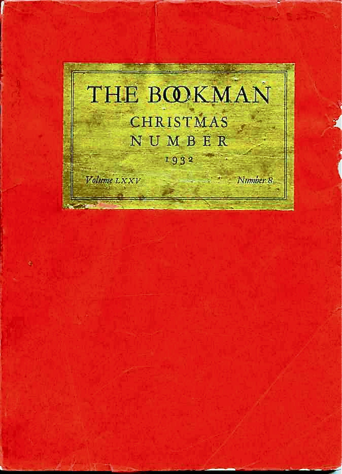 """The Bookman"" for December 1932 contained the title chapter from  The Private Life of Sherlock Holmes."