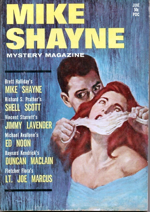 "The coverline should read: ""Vincent Starrett's  Jimmie  Lavender."""