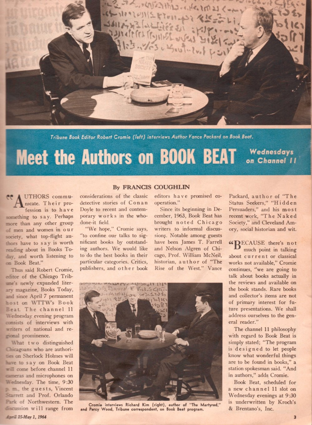 "Notice the studio backdrop to ""Book Beat"" and compare it with the background in the Starrett photograph above."