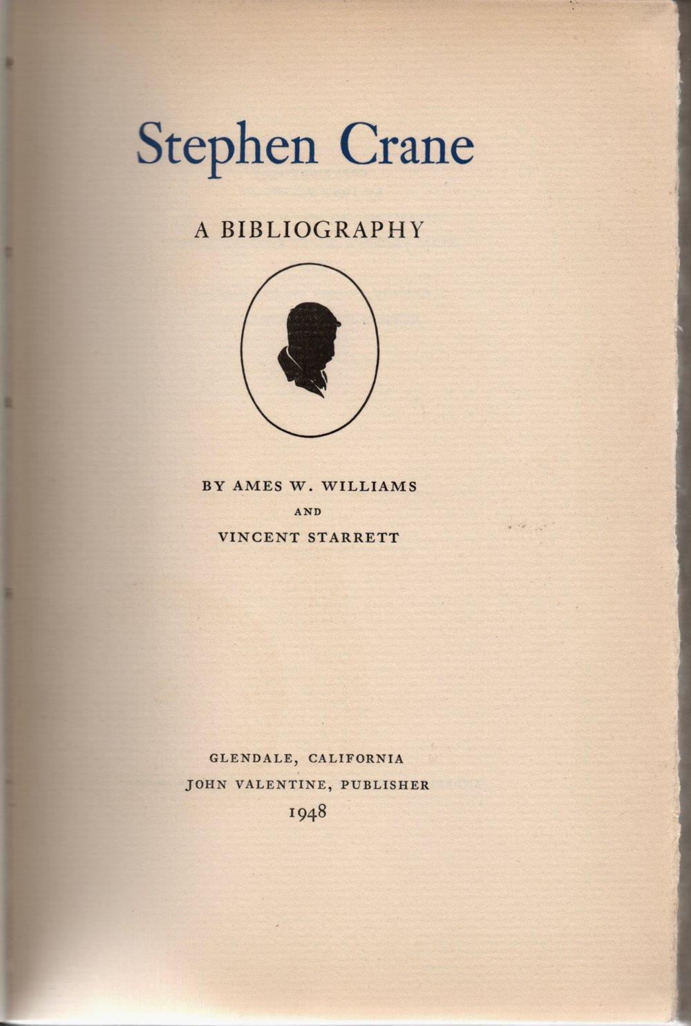 Stephen Crane biblio title page.jpg