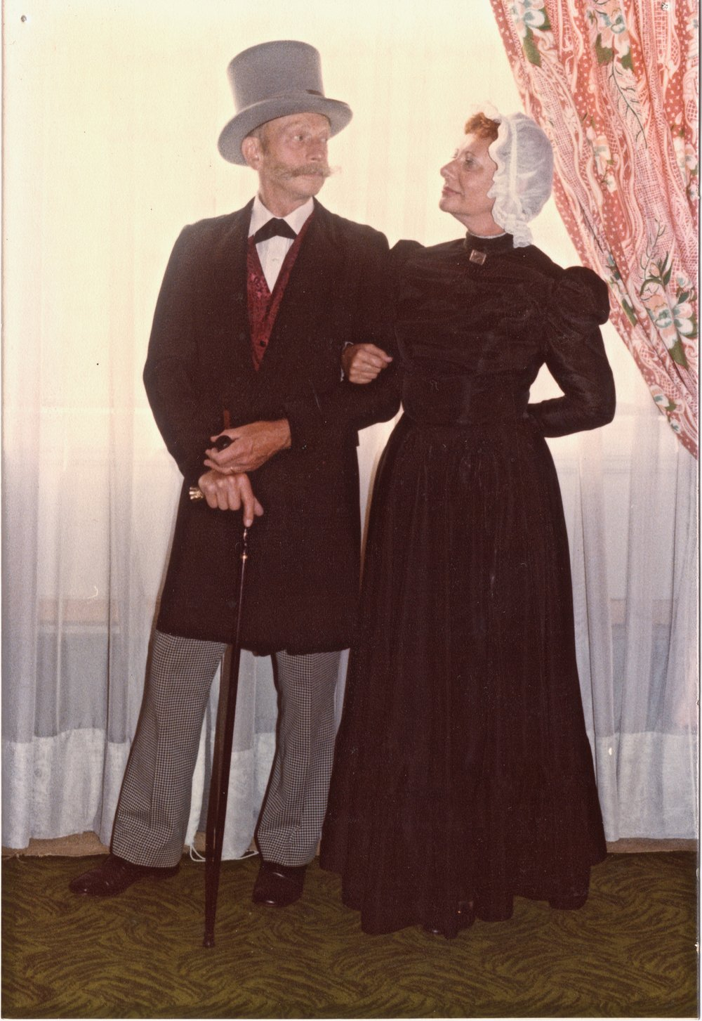 Chuck and Peggy Henry in their Cleveland, Ohio, days of Sherlocking.