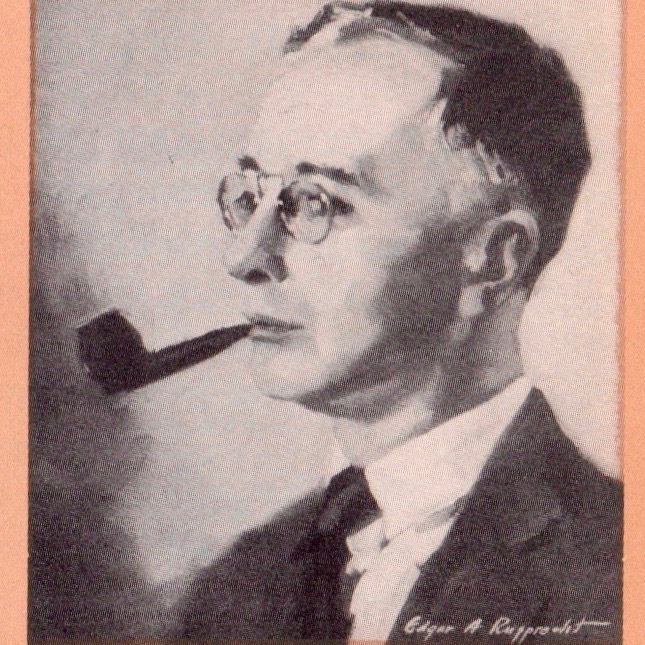 A portrait of Charles Collins from Ben Hecht's book,  A Child of the Century.