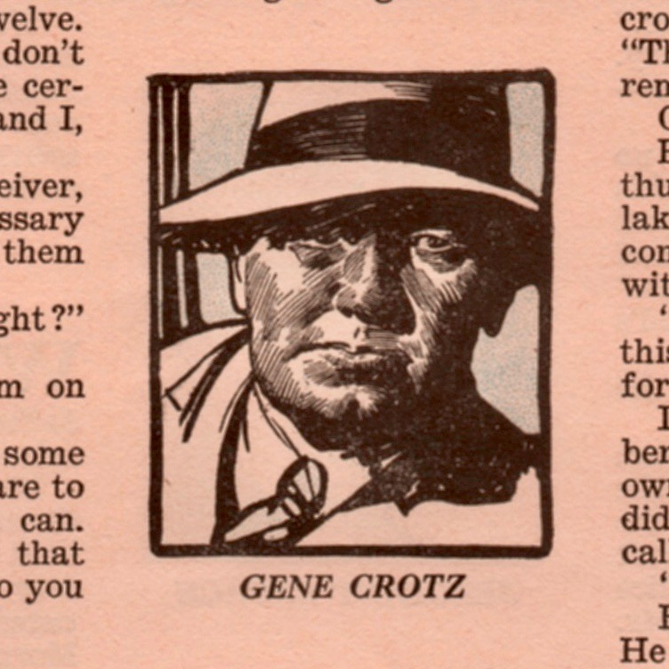 The gangster Gene Crotz or Gene Cross, depending.