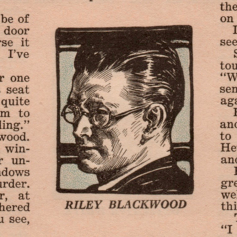 The handsome Riley Blackwood from the Redbook edition.