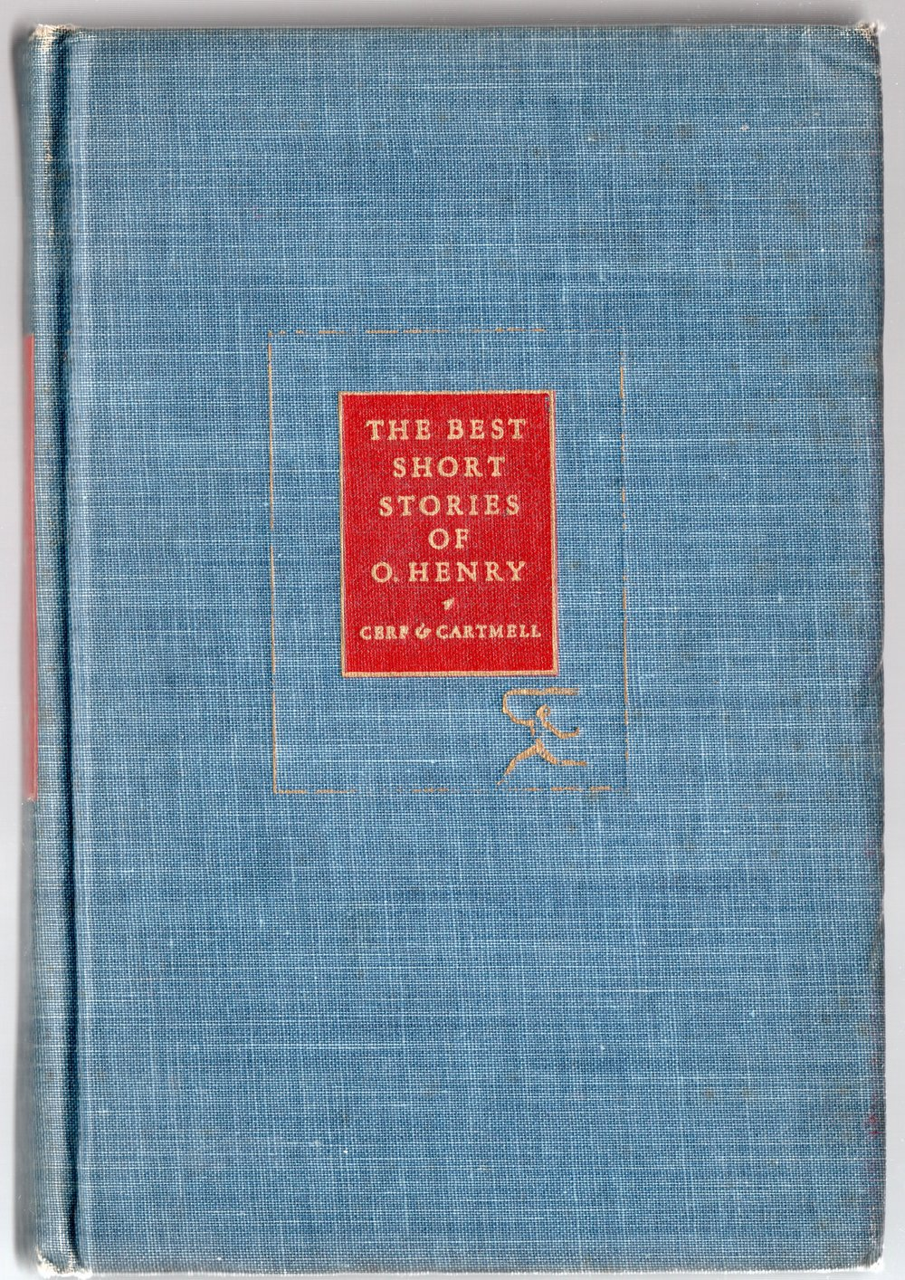 Peak inside this copy of O.Henry shorts stories and we'll watch Vincent Starrett at work.