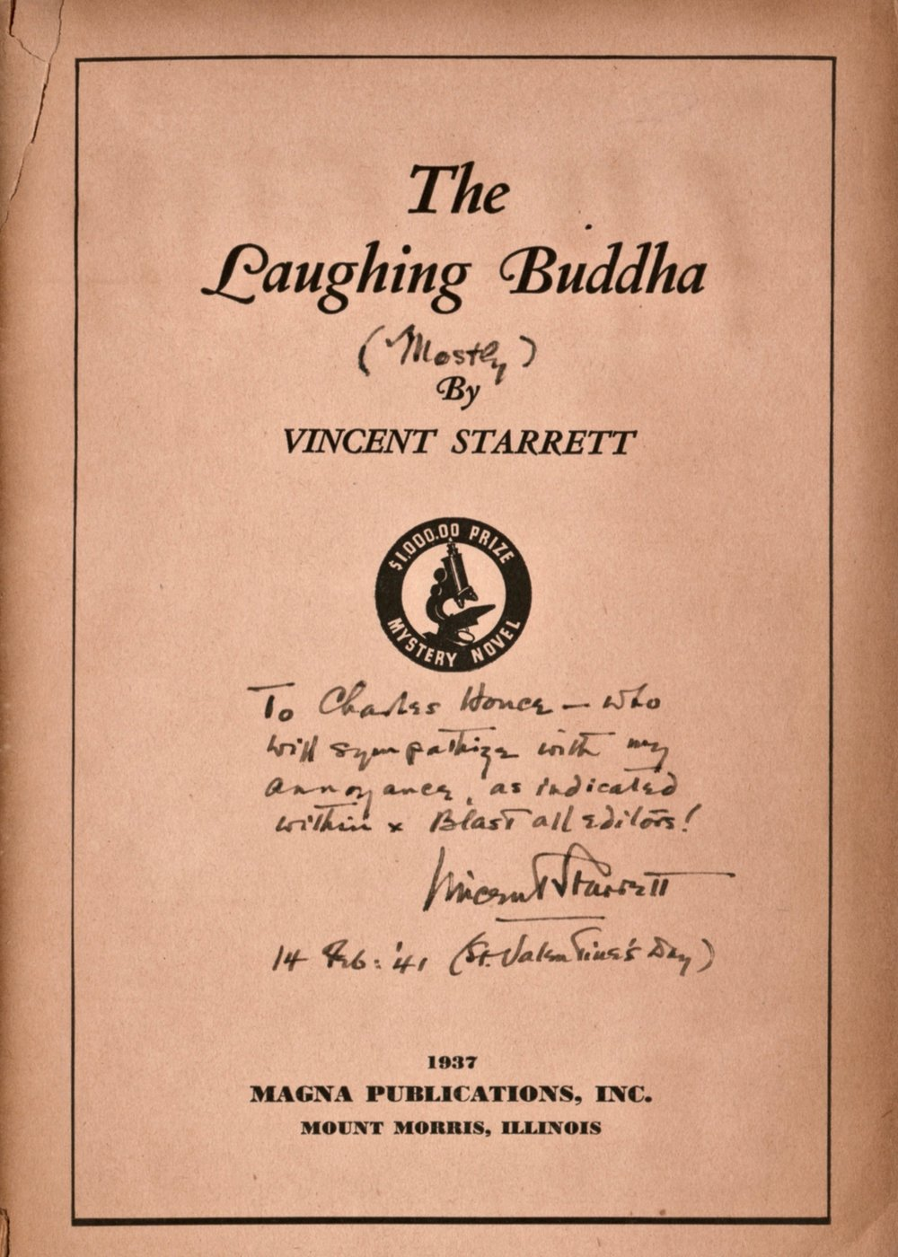 Laughing Buddha title and half title 2.jpg