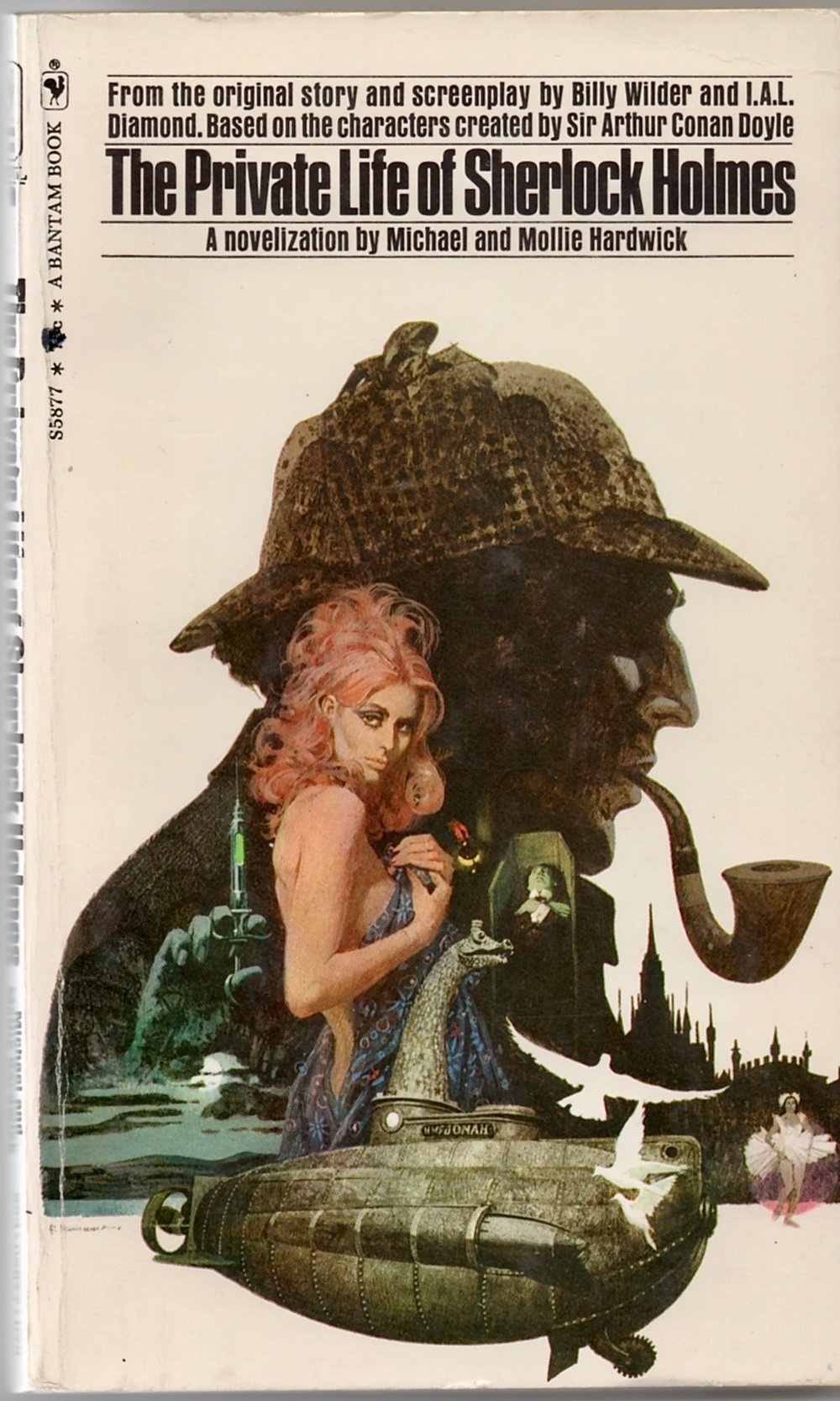Once again,  The Private Life of Sherlock Holmes  graces the cover of a book. But it is not Starrett's well-known classic, but an adaptation of Billy Wilder's film.