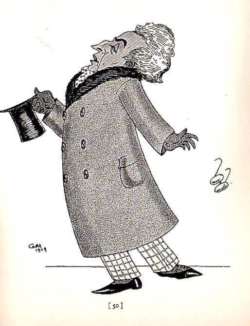 Vincent Starrett by Gene Markey in 1919, showing how he once went out on the town as a literary lion and critic.