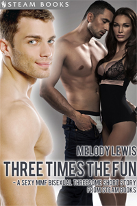 Three Times the Fun     Available now!   Amazon ,  Barnes & Noble ,  All-Romance ,  Kobo ,  iTunes ,  Google-Play