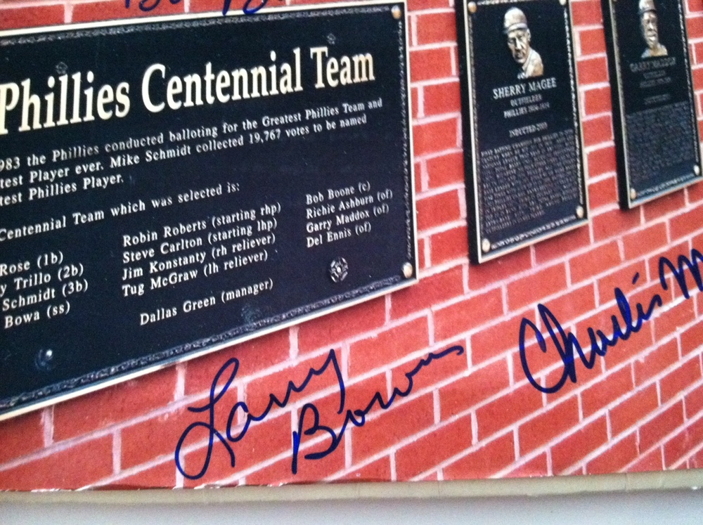Phillies Wall of Fame photo