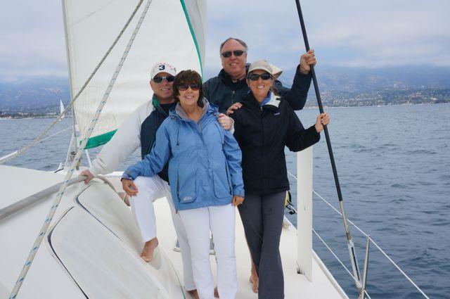 Santa Barbara Coast coming back from Santa Cruz Island