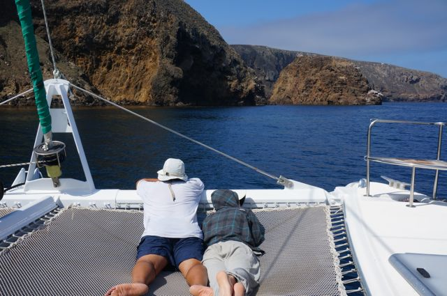 Sightseeing along the Channel Islands National Park