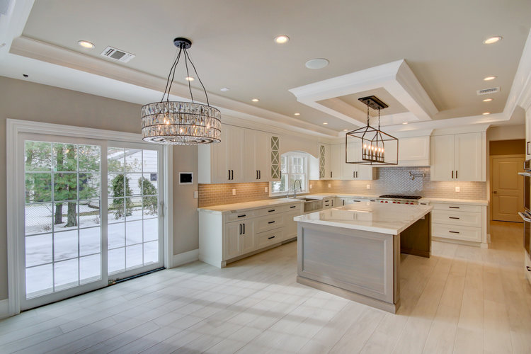 Our traditional and transitional classic kitchen and bath projects are custom designed by our in house designers and