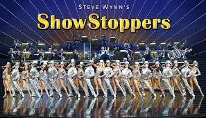 Deep V Romper worn by Kelli Calvert, pro dancer in Steve Wynn's  Showstoppers .