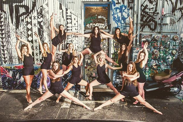 We're so stoked to do team rompers for the gorgeous dancers at  @binghamdanceco ⚡️// #moveinspired #katieandkellie #dancewear