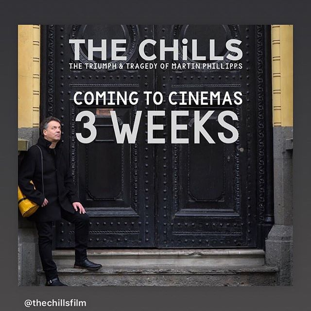 Coming soon to a cinema near you. We can't wait to see this fabulous documentary @thechillsfilm on @thechillsnz on the big screen #heavenlypophit #thechills #nzmusic #documentary
