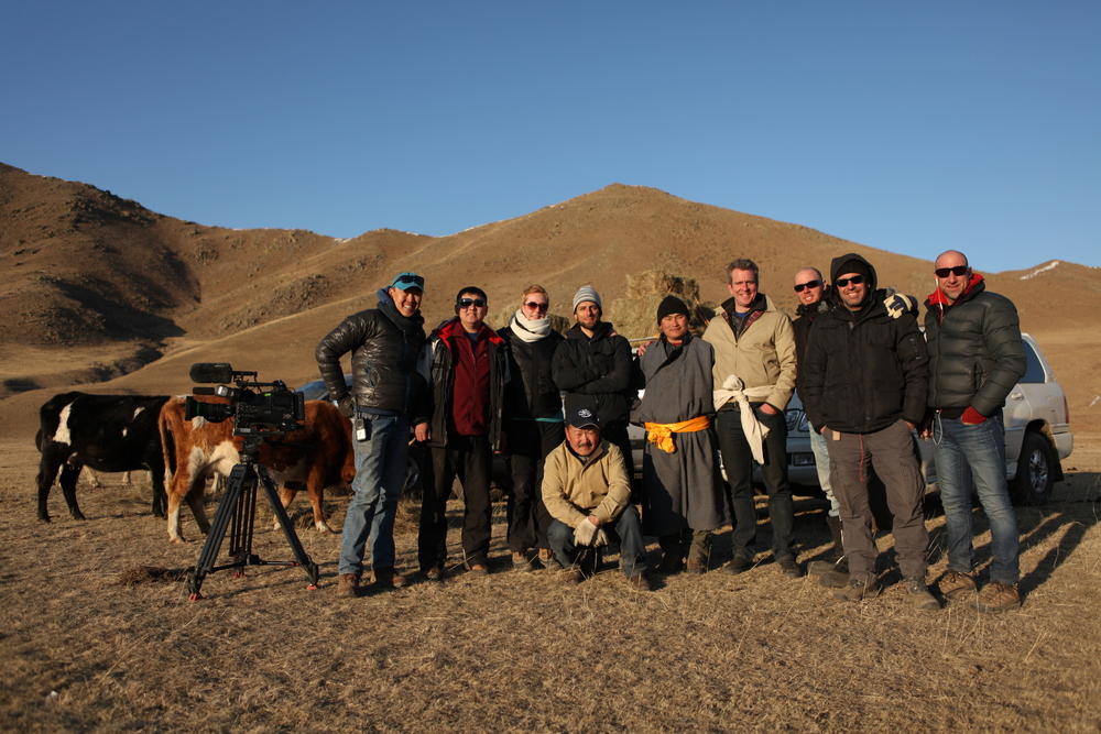 "Discovery channel show ""Don't drive here"" was shot mostly in Ulaanbaatar and surrounding  areas. This show was organized by Panoramic Journeys with Chinzo as the main fixer."