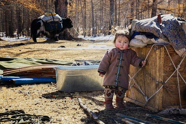 Spring is a time of migration, birth and greener pastures in Mongolia. This girl and her family are moving back to their spring pastures near their home town after a long winter.  Are you migrating this spring?