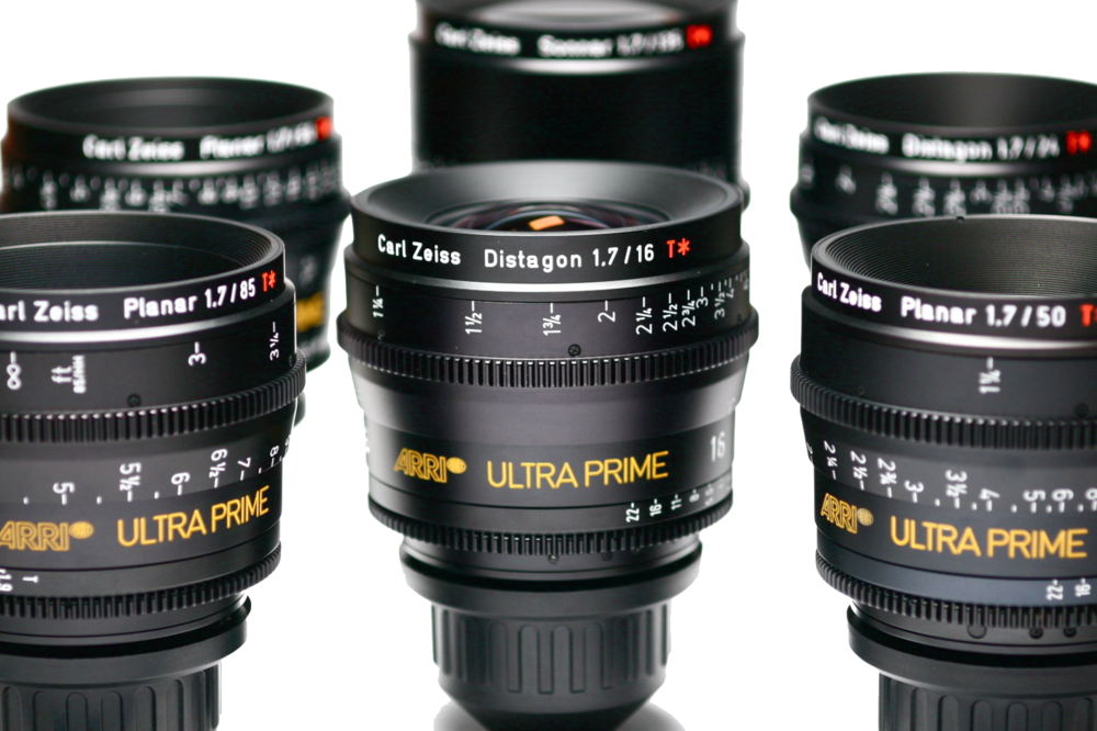 Arri Prime Lenses