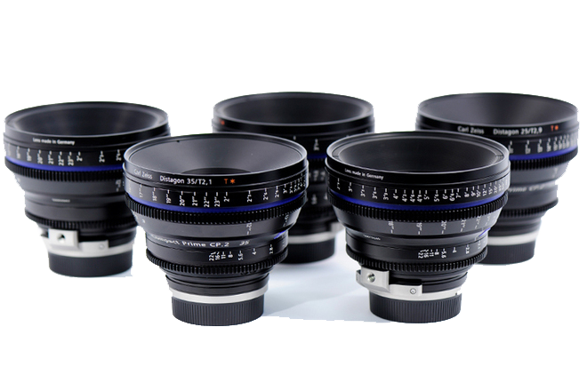 Zeiss Compact Prime CP.2 set