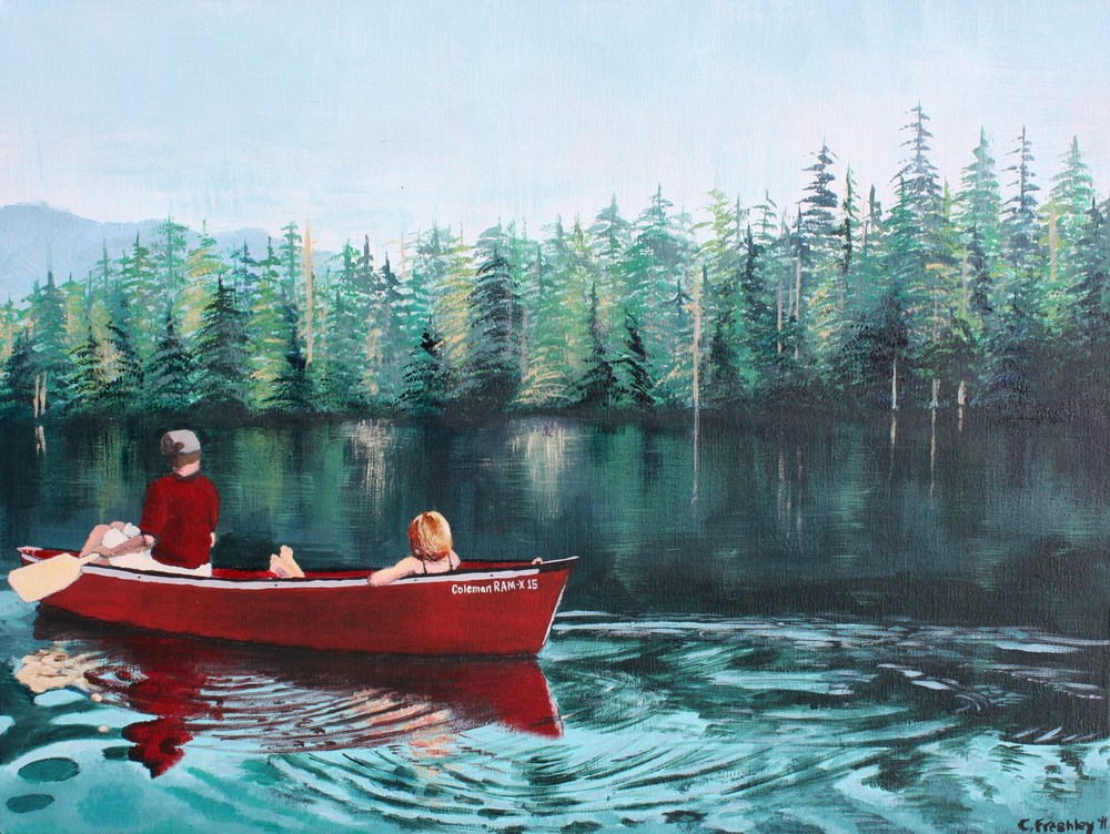 "Lost Lake - 18""x24"" - SOLD"