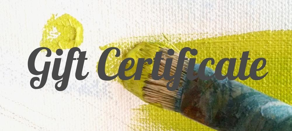 catherine freshley art gift certificate