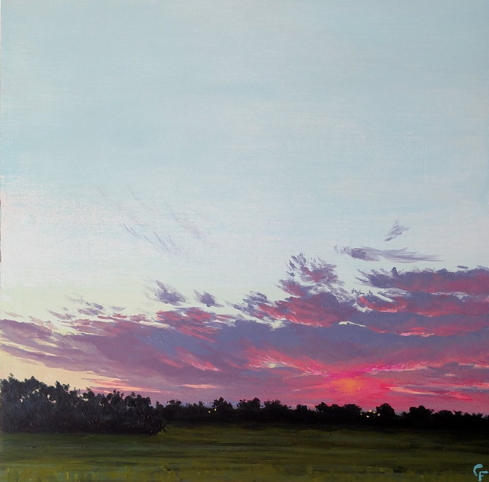 """Enid September Sunrise - 12""""x12"""" - Available  here"""