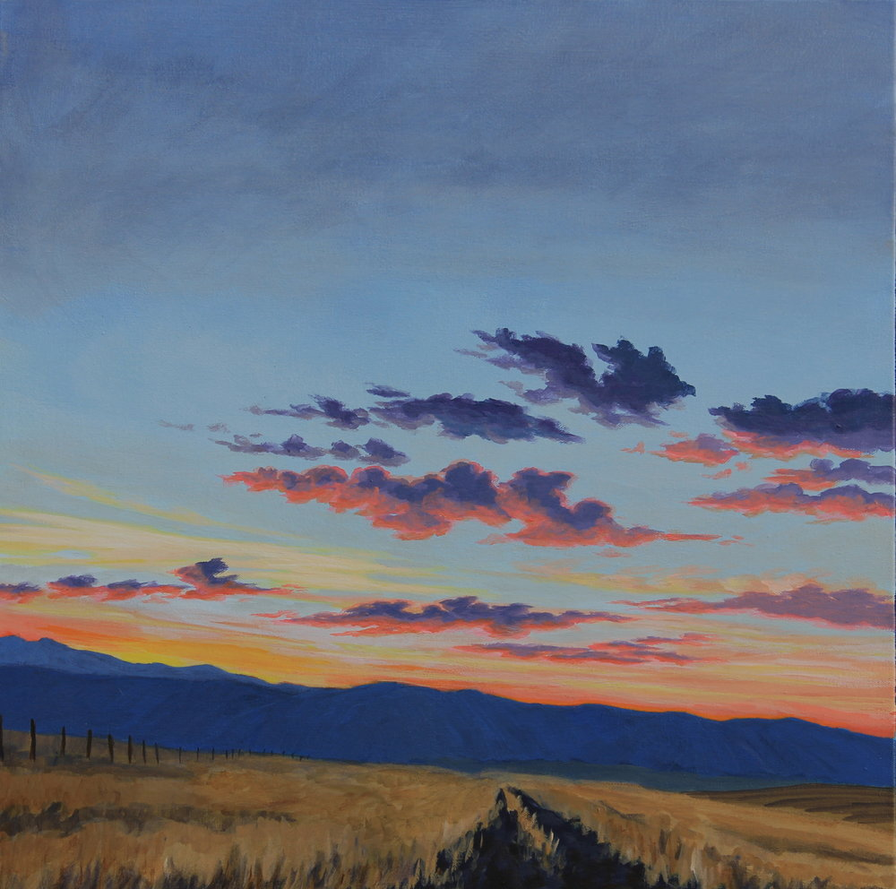 CatherineFreshley_WallowaCountySunset_24x24.JPG