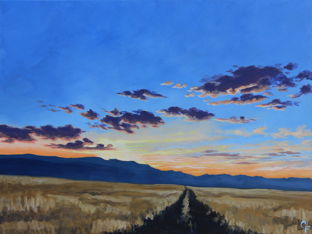 CatherineFreshley_WallowaCountySunset2_30x40.JPG