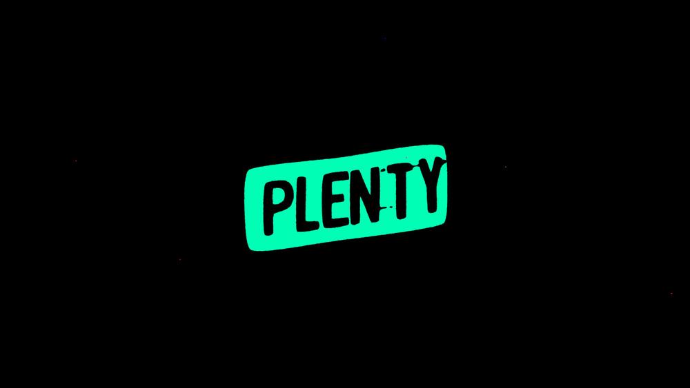 PLENTY - showreel Intro