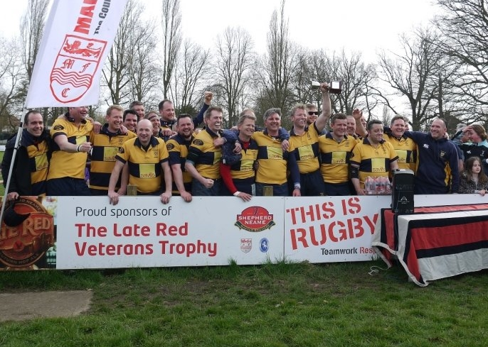 SEVENOAKS ACORNS VICTORIOUS IN KENT VETERANS CUP FINAL