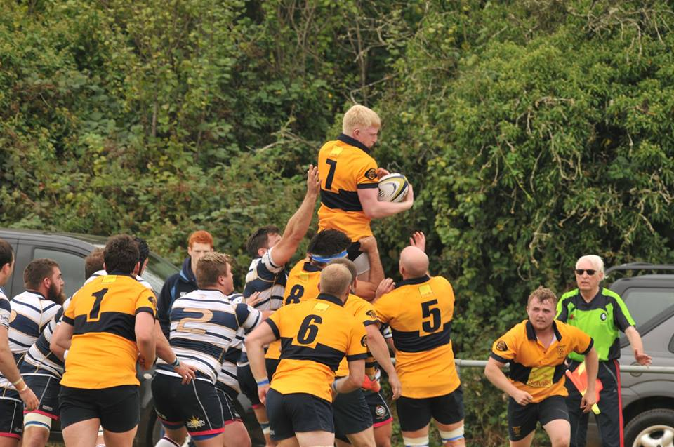 Max Skinner, at 7, shone on his full 1st XV debut