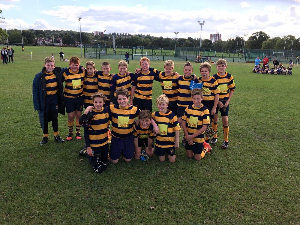Under 12s enjoy Foxbury Festival victory