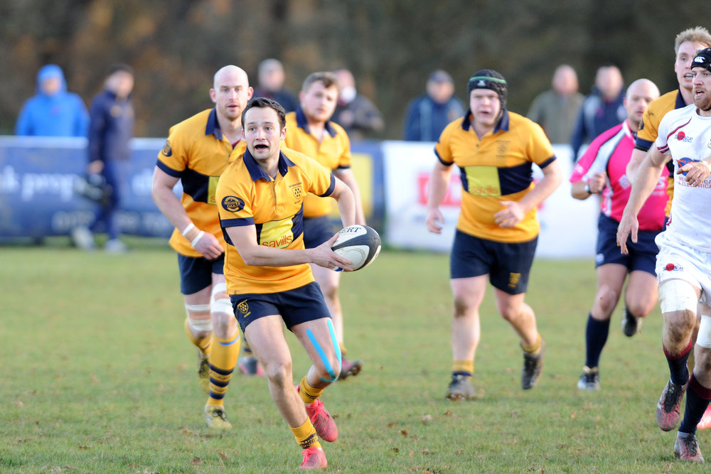 SEVENOAKS RUGBY 1ST XV VERSUS SIDCUP RFC 3 DEC 2016 Photo credits: Dave Purday